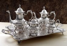 Tea Set With Serving Tray