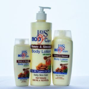 500 Ml Honey And Almond Body Lotion