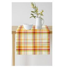 Checked Cotton Table Runners