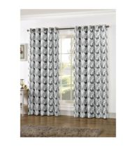 Cock Printed Cotton Curtains