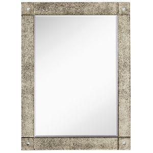 Antique Frameless Wall Mirror