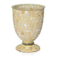 Beautiful Mosaic Glass Flower Vase