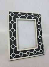 Black And White Linnig Designer Photo Frame