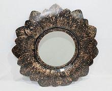 decorative metal mirror wall frame