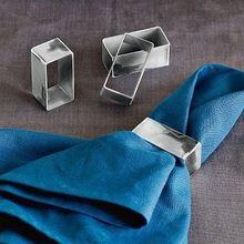 Fashion Decorative Metal Napkin Rings