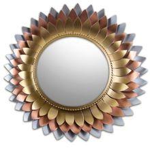 Handicraft metal Wall mirrors home decor