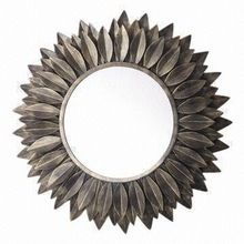 Metal round shape decorative Wall Mirror for Home Decorations