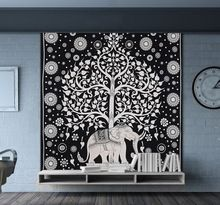 Hippie Mandala Tapestry