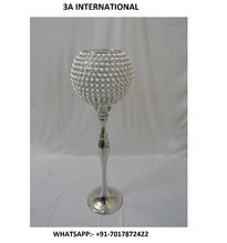 Crystal Beaded Candle Holder