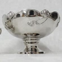Silver Bowl For Fruits