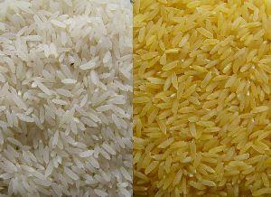 1121 White & Golden Sella Rice