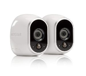 Arlo - Wireless Home Security Camera System With Motion Detection, Extra Outdoor Mount Night Visio