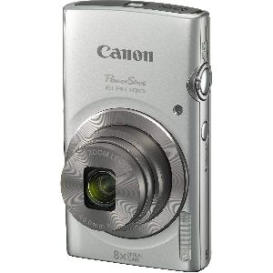 Canon Powershot Elph 180 20mp 8x Zoom Digital Camera (silver) + 32gb Card + Reader + Case + Accessor