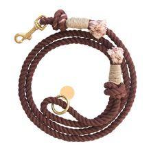 Dark Brow Cotton Dog Training Rope
