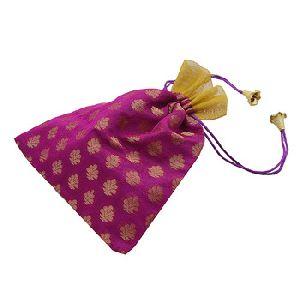 Potli Magenta Drawstrings Bags