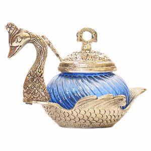 Single Duck Bowl Blue