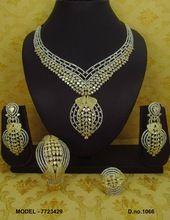 African style cubiz zircon combo necklace