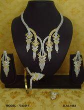 latest arrival american diamond jewelry set