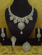 Trending american diamond necklace