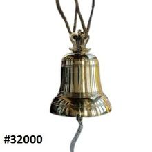 Ancient Solid Metal Church/temple Bell