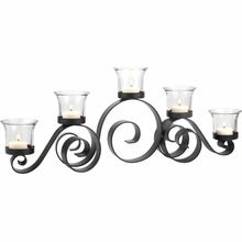 Candelabra With Clear Glass