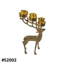 Chrimas Metal Reindeer Votive Candle Holder