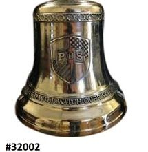 Mirror Polishing Solid Brass Church Bell