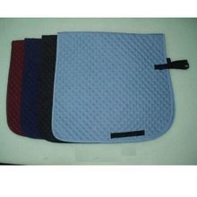 Quilted Cotton Dressage Saddle Pads