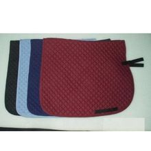 Quilted Cotton Jumping Saddle Pads