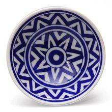 Handmade Blue Pottery Bowls