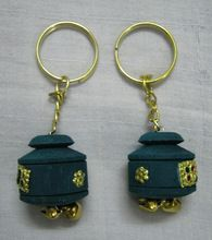 Handmade Wooden Key Ring