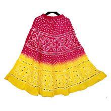 Navratri Fest Bandhej Skirt