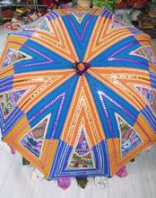 Rajasthani Vintage Embroidered Garden Umbrella