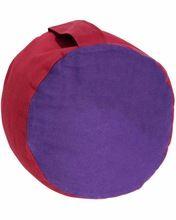 Cotton Batting Filled Round Non Pleated Zafu Meditation Cushion