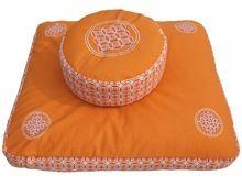 Embroidered And Printed Customized Meditation Zafu And Zabuton Cushion Set