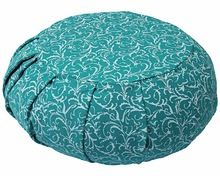 Floral Design Hot Selling In Multi-color Pleated Round Yoga Meditation Cushion