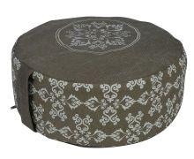 Half Printed Custom Design Option Yoga Meditation Cushion
