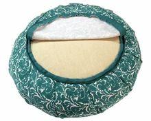 Handmade Plain Printed And Embroidery Zafu Meditation Cushions