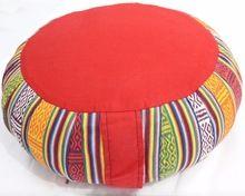 Natural Buckwheat Filled Customized Round Meditation Cushion