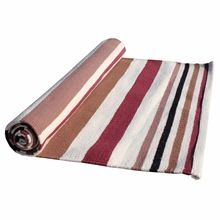 Striped Cotton Private Label Yoga Rug