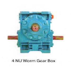 "4"" NU Worm Gearbox"