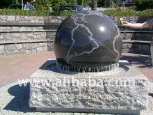 Stone Sphere Fountain