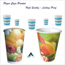 Paper Cups For Coffee And Cold Drinks