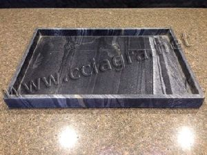 Grey Marble Food Serving Tray