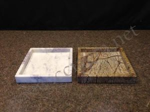 Marble Square Serving Tray