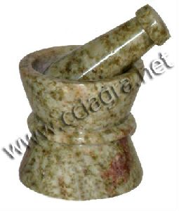 Natural Stone Mortar Pestle