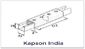 External Joint Plate Strut Support System