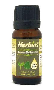 Herbins Lemon Melissa Essential Oil 10ml
