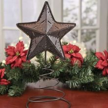 Christmas Decor Metal Star