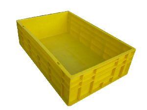 Plastic Closed Crate